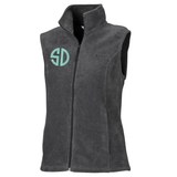 Monogrammed Columbia Fleece Vest