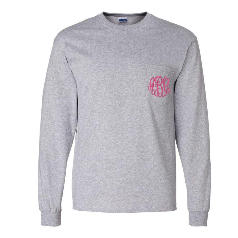 552b78dbbd6f Monogrammed Long Sleeve Collection – United Monograms