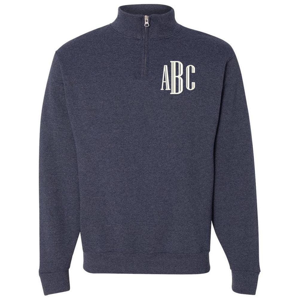 Monogrammed Quarter Zip Best Selling Sweatshirt