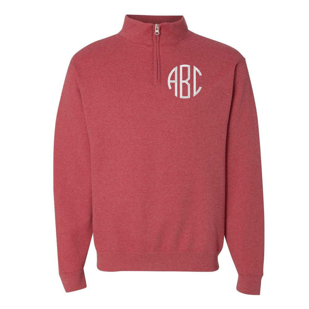 Monogram Quarter Zip