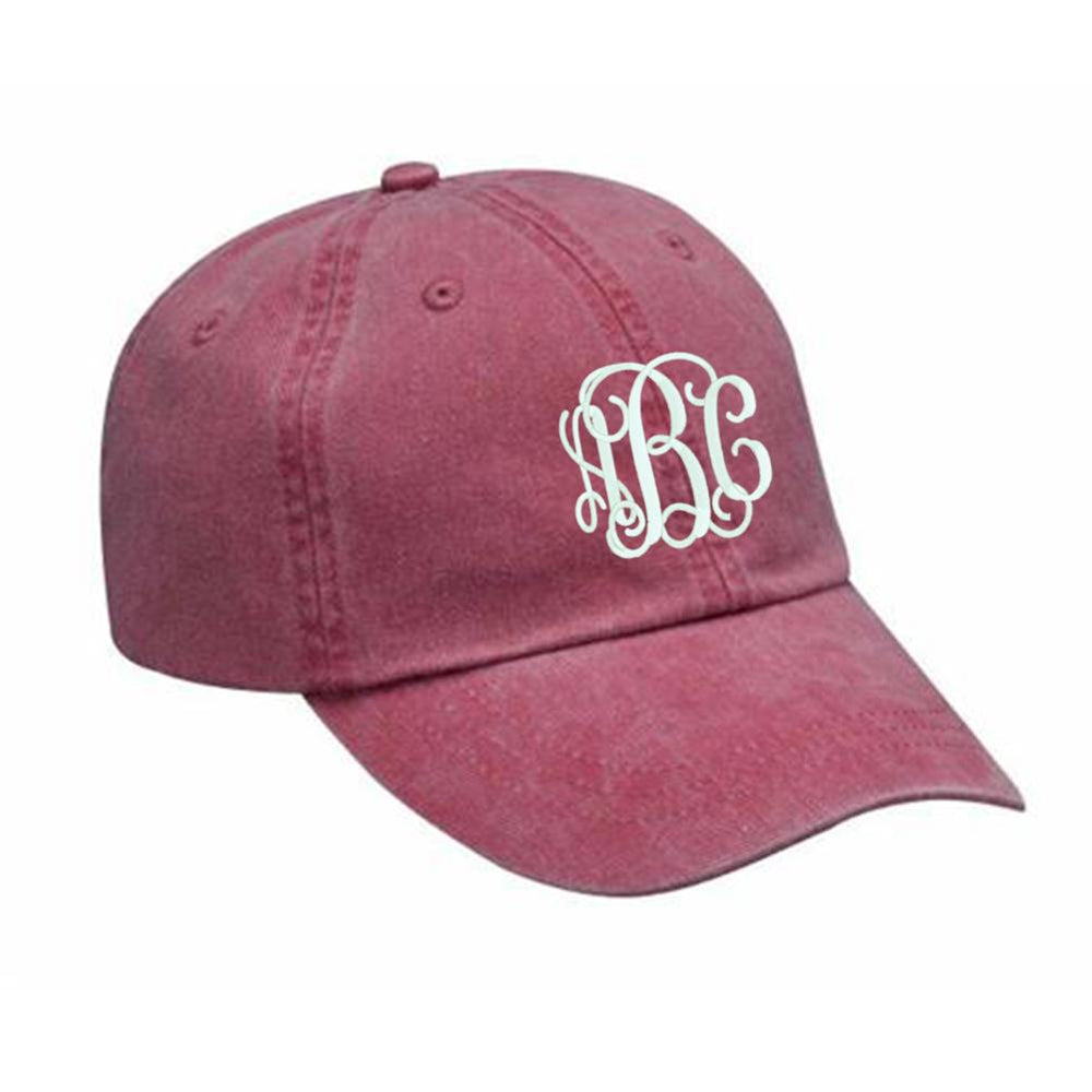 Red Hat- Nautical with Monogram