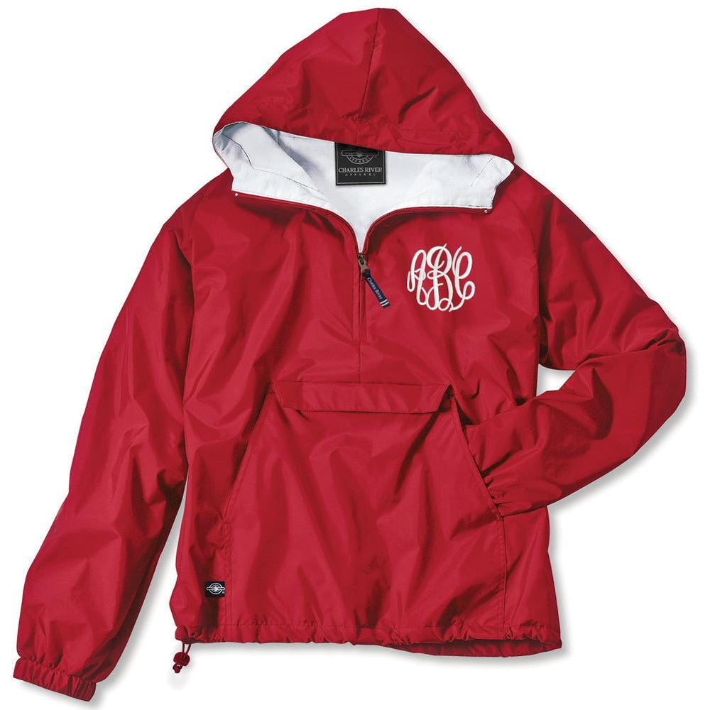 official supplier buy popular stable quality Monogrammed Pullover Rain Jacket – United Monograms