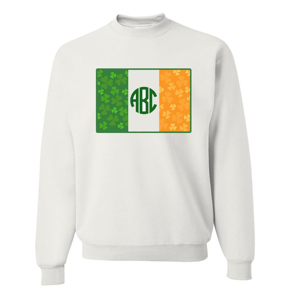Irish Flag Monogram Crewneck