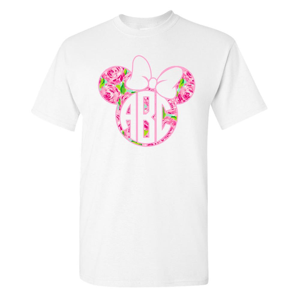 Minnie Mouse monogram lilly pulitzer