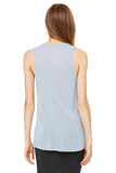 High Low Muscle Tank, Lake Blue - Killer Dolce
