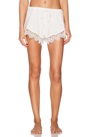 Loungin' Around Shorts, Ivory