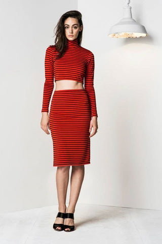Hot Tamale Skirt Striped