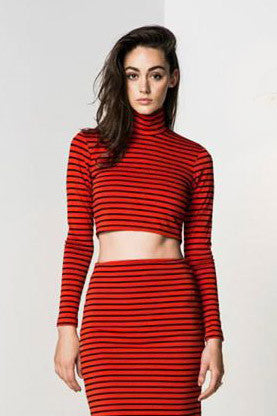 Hot Tamale Top Striped