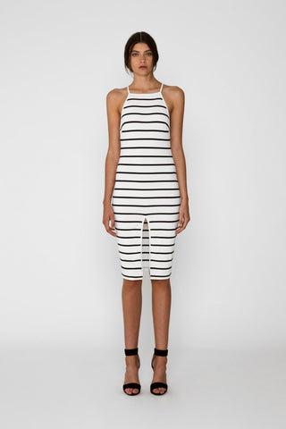 Don't Panic Midi Dress, White