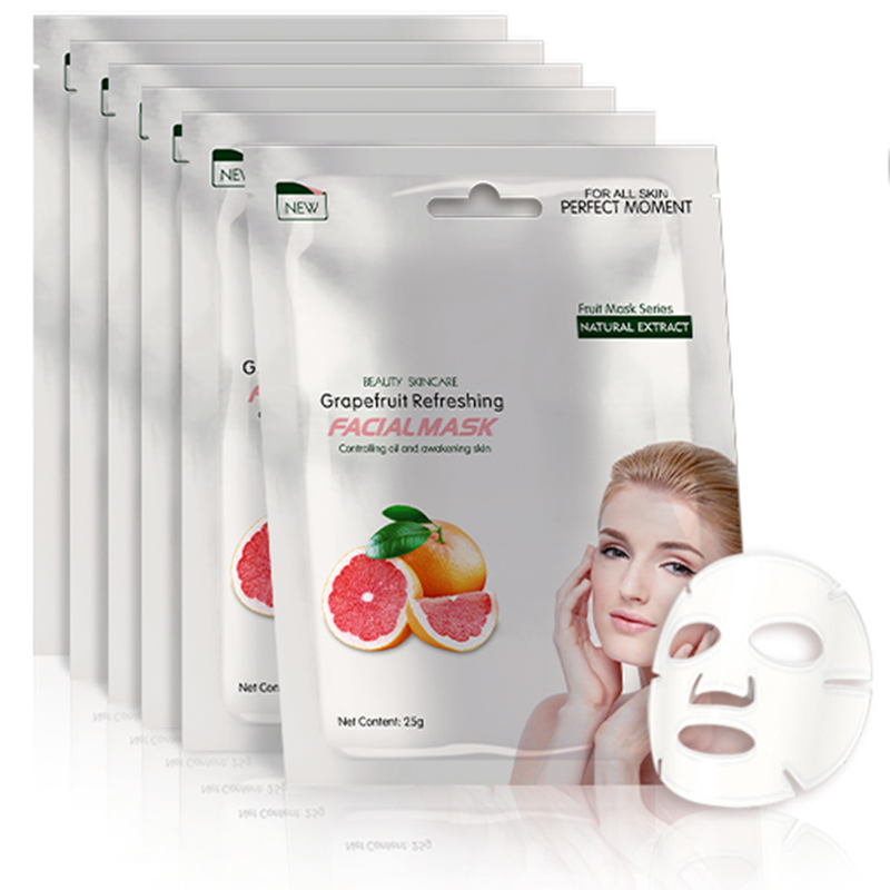 Grapefruit Refreshing Face Sheet Mask