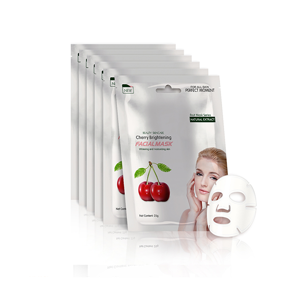 Cherry Brightening Facial Mask Fibroin Facial Mask