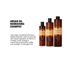 Argan Oil Moisturizing Hair kit (with bag)