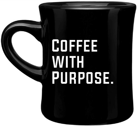 Coffee with Purpose 12 oz. Mug - Big House Beans
