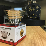 Kalita Wave 185 Coffee Dripper - Big House Beans