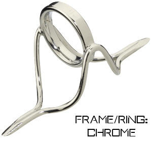 Alps/Forecast Chrome Ring Guides