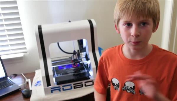 Dane Jarvis: 11 Year Old That Started a Company that 3D Prints Violins