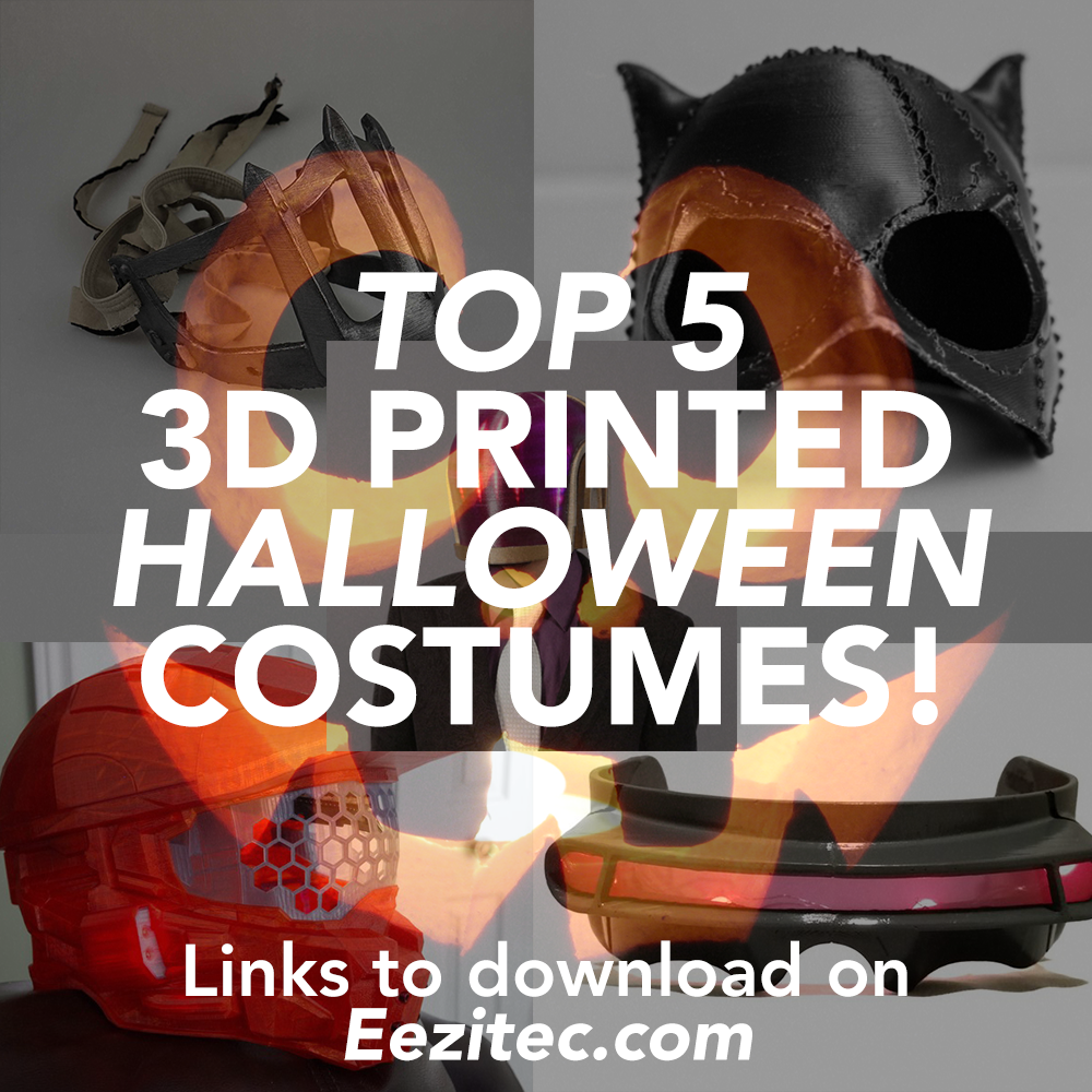 Top 5 Halloween Costumes You Can 3D Print!