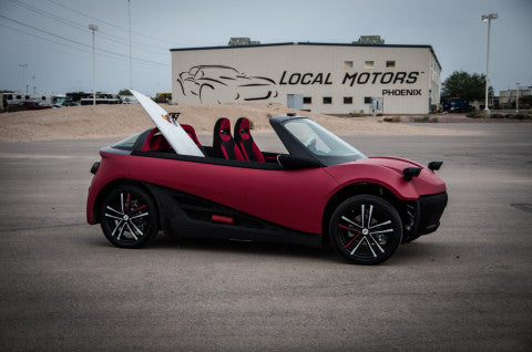 Local Motors' LM3D Is The World's First 3D-Printed Car Series