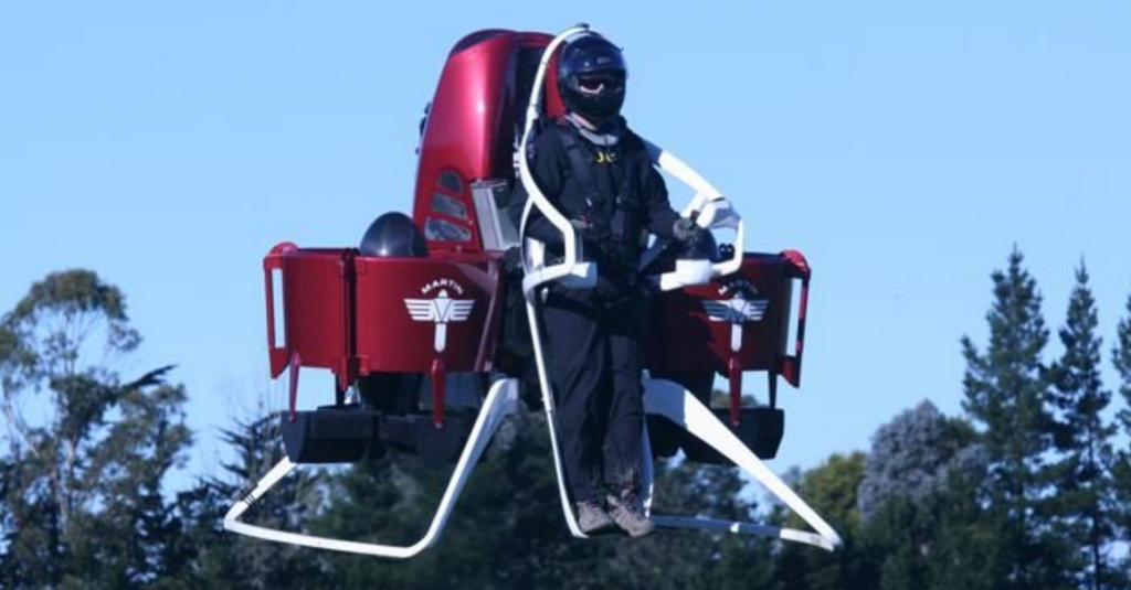 Martin Jetpack Gets Help From 3D Printing