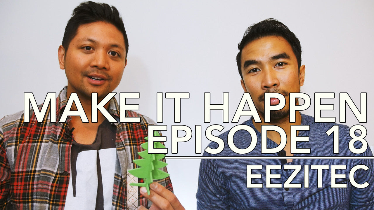 Make It Happen Episode With A 3D Printed Christmas Tree