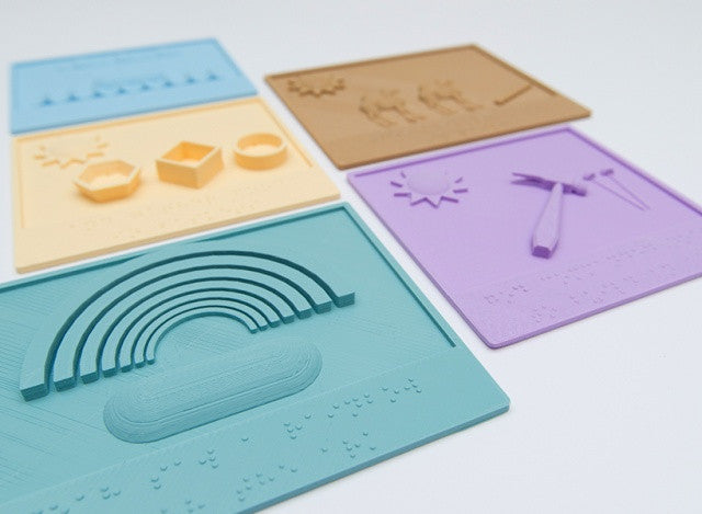 3D Printed Picture Books for Blind Children