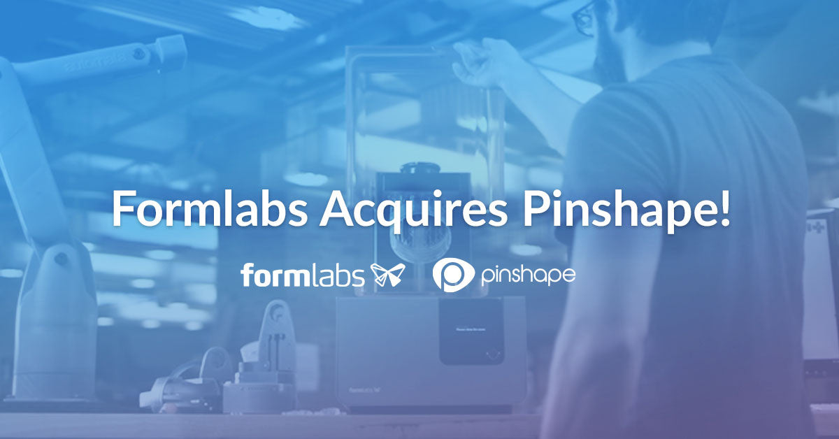 Formlabs and Pinshape Unite!