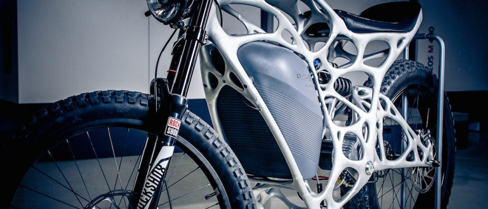 Airbus Creates First 3D Printed Motorcycle