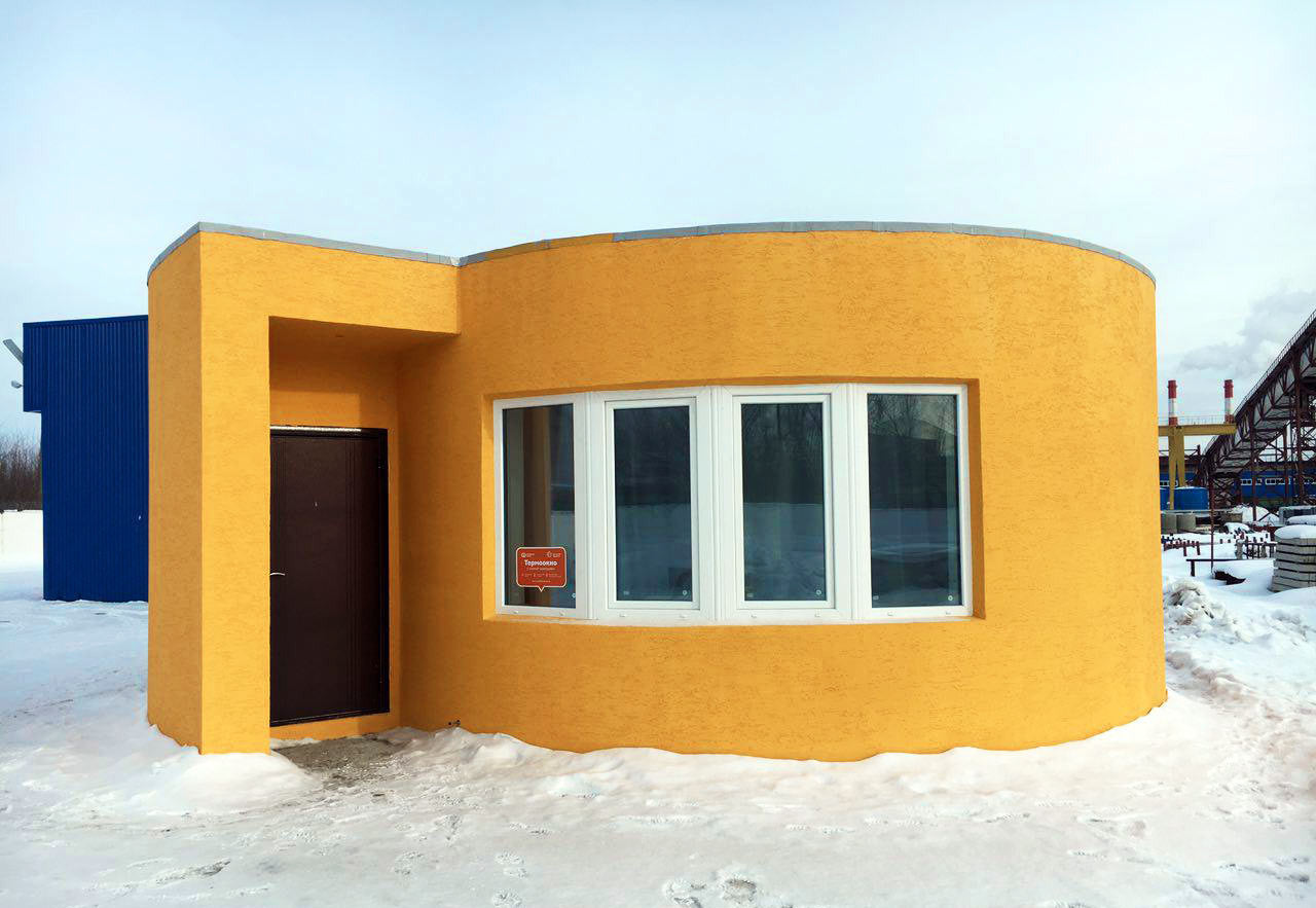 Apis Cor 3D Prints a House in 24 hours!