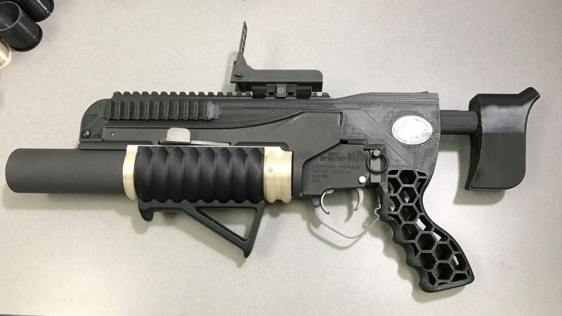 The Army 3D Printed A Grenade Launcher