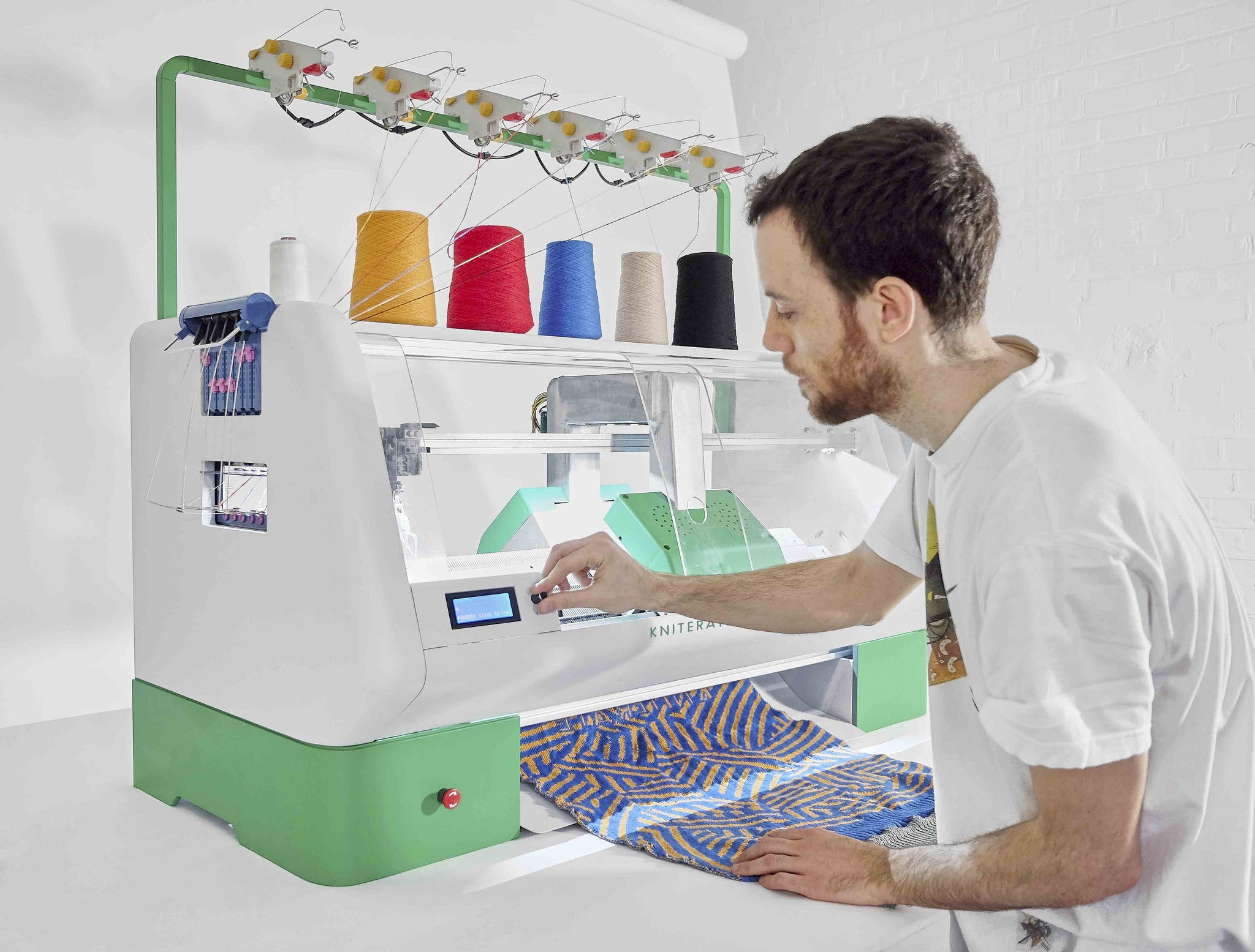 3D Print your clothes with Kniterate