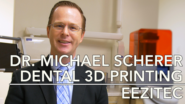 Video Interview with Dental 3D Printing Specialist, Dr. Michael Scherer