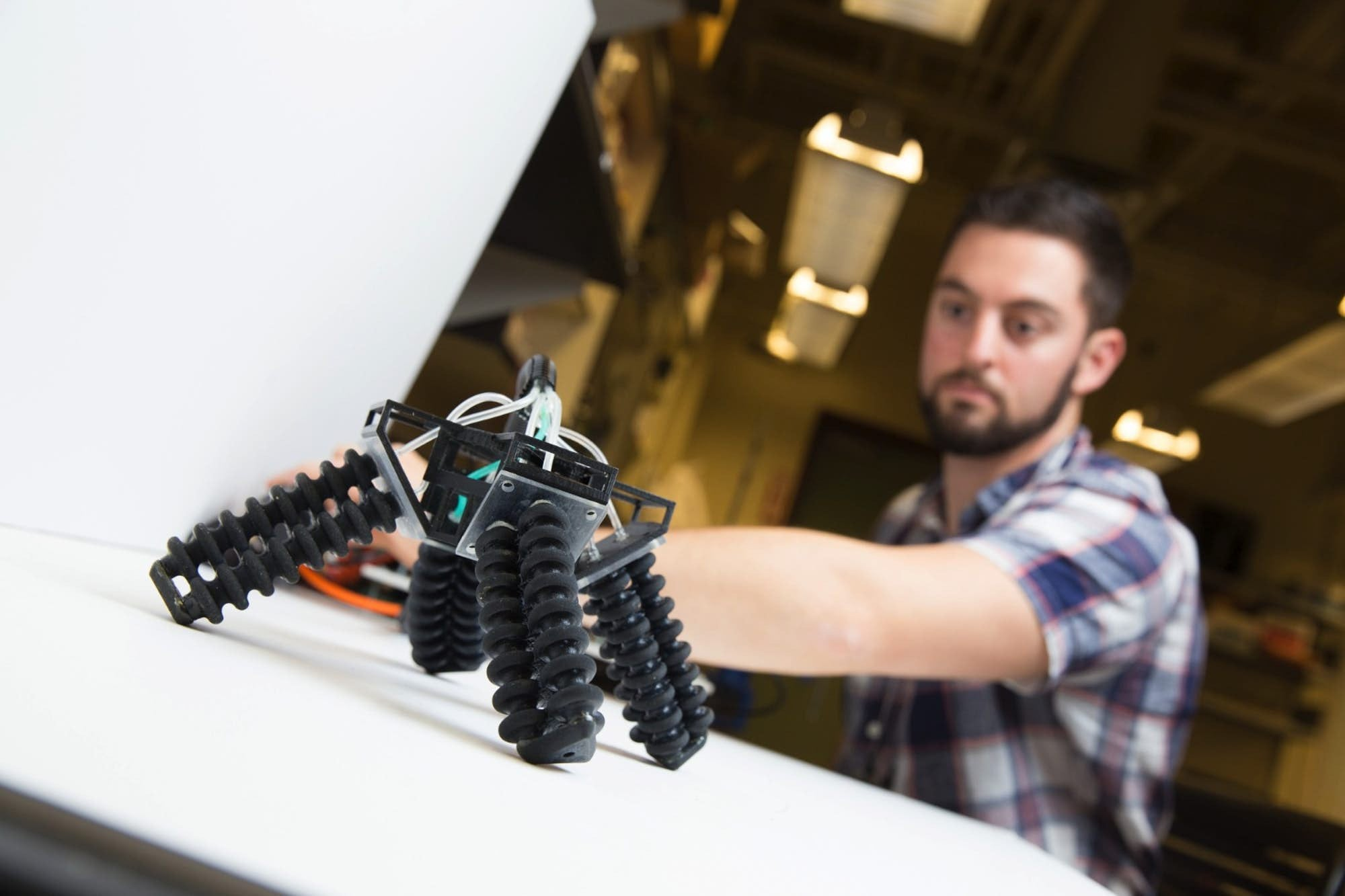 The First Soft 3D Printed Robot