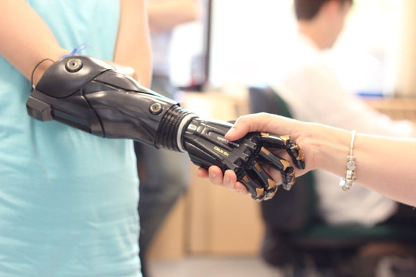 What if you could 3D print a bionic hand for under $7,000?
