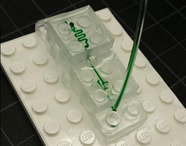 Microfluidic System made Out of Lego Bricks
