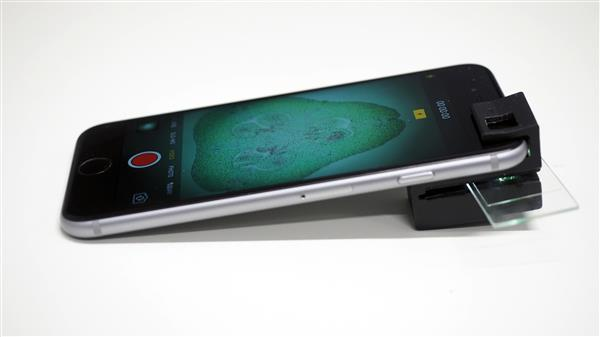 3D Printed Add-On Clip Turns Your Smartphone Into A Microscope