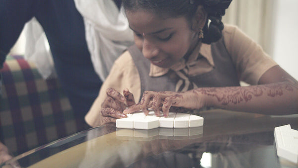World's First 3D Printed Braille Puzzle Makes Learning Fun for Visually Impaired