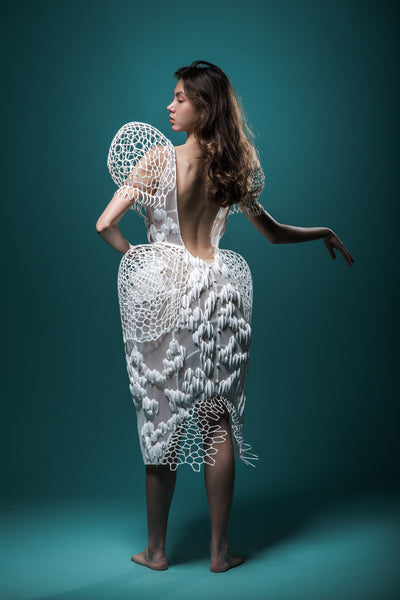 Sustainable 3D Printed Fashion, Inspired By Nature