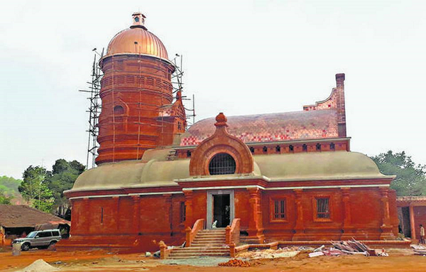 Temple Roofs in India Upgraded with 3D Printed Copper