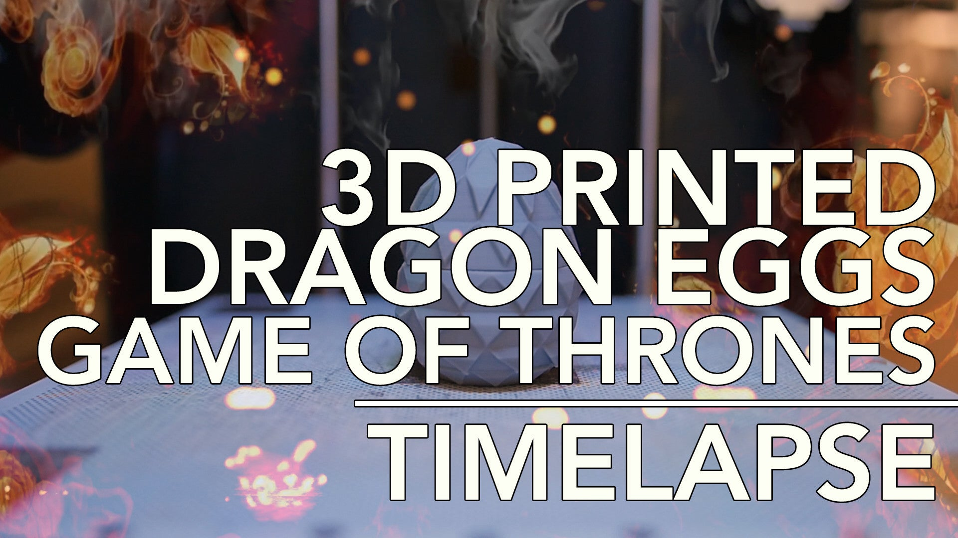 Want To See 3D Printed Dragon Eggs from Game Of Thrones?