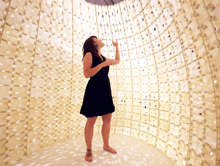 Emerging Objects 3D Printed Salt Pavilion Made From Saltygloo