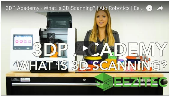 3DP Academy: What Is 3D Scanning? Video