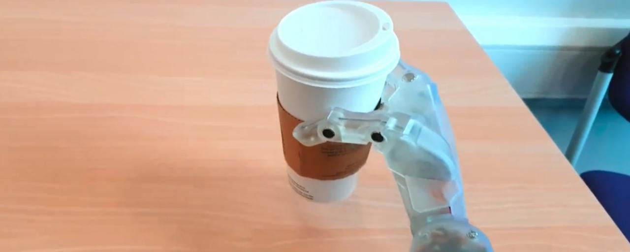 3D Printed Robot Hand Introduced As Cheaper Prosthetic Alternative