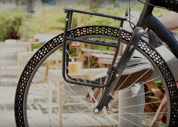BigRep Introduces 3D Printed Airless Bike Tires