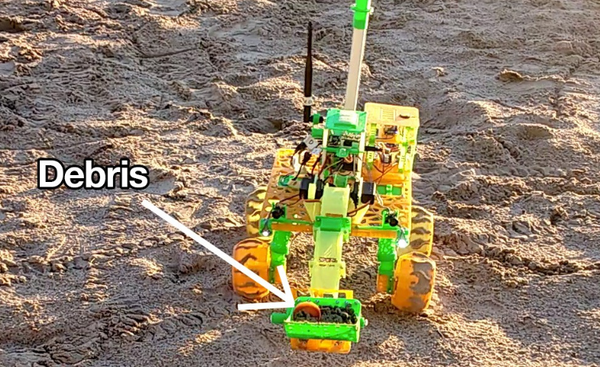 Robot Missions Uses 3D Printing to Help Clean Beaches