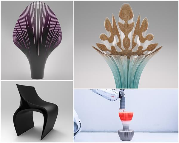 Stunning 3D Printed Chairs to be Showcased at Milan Design Week