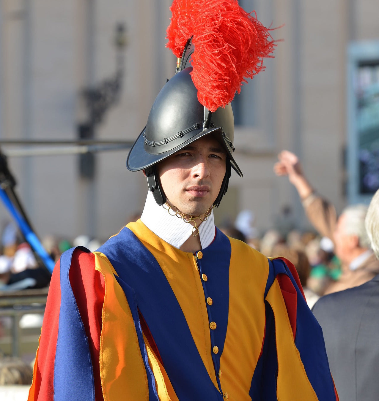 3D Printed Helmets Created for The Pope's Swiss Guard Army