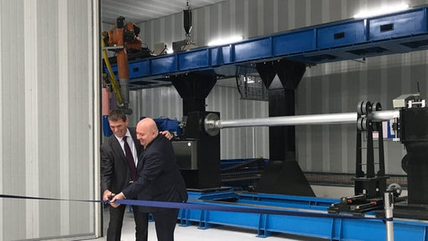 Scaling Up Additive Manufacturing with World's Largest Metal 3D Printer