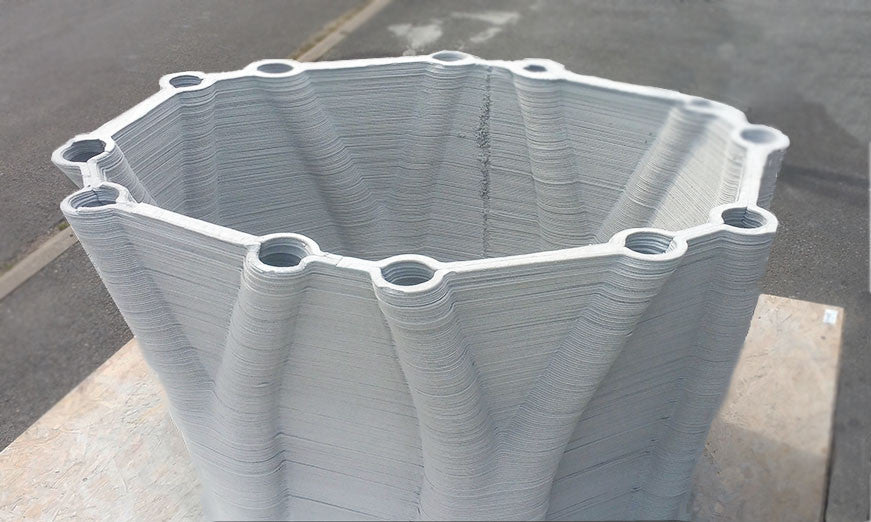 Sculpteo Interviews XtreeE: 3D Printing With Concrete