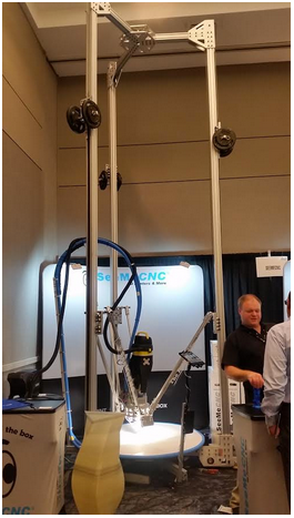 SeeMeCNC's giant 3D printer