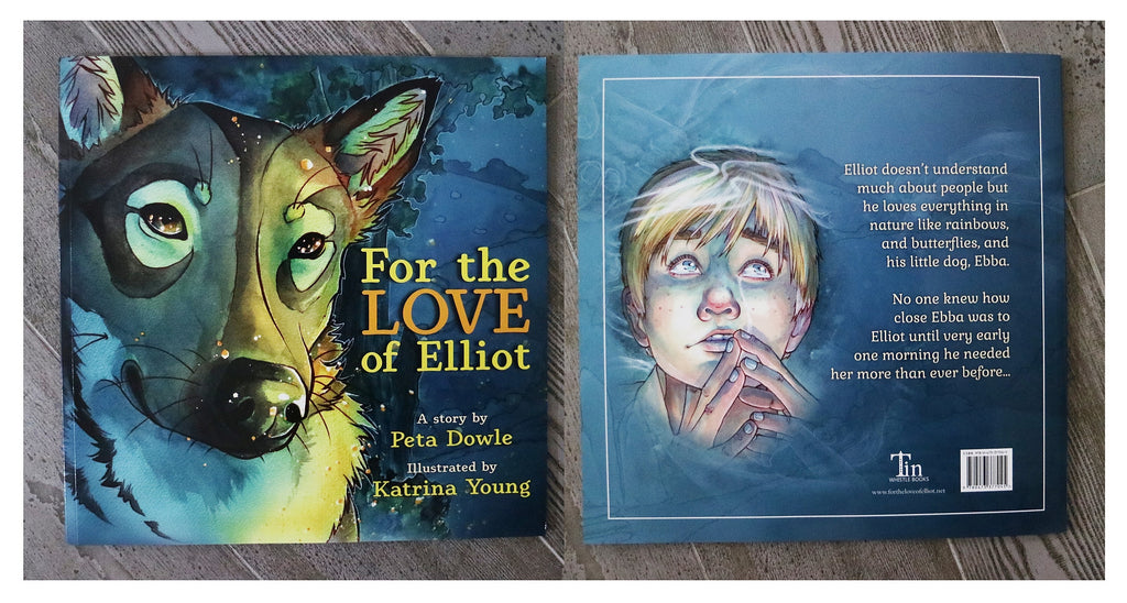 'For The Love of Elliot' Picture Book